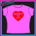 DON'T BE JEL ONLY WAY IS ESSEX LOVE HEART TSHIRT